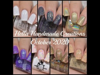 Hella Handmade Creations - October 2020