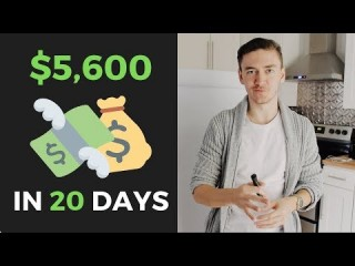 $5.6k in 20 DAYS selling ONLINE COURSES